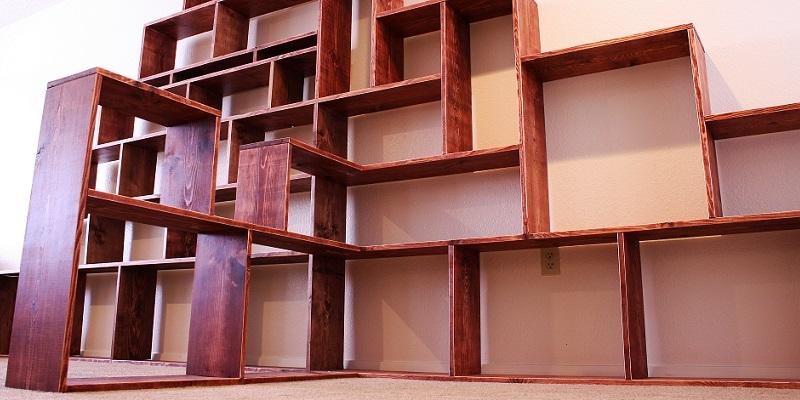 Jak zrobić półkę na książki?