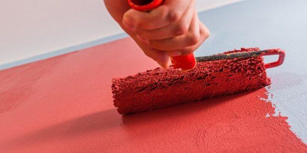 jak malować mieszkanie zimą