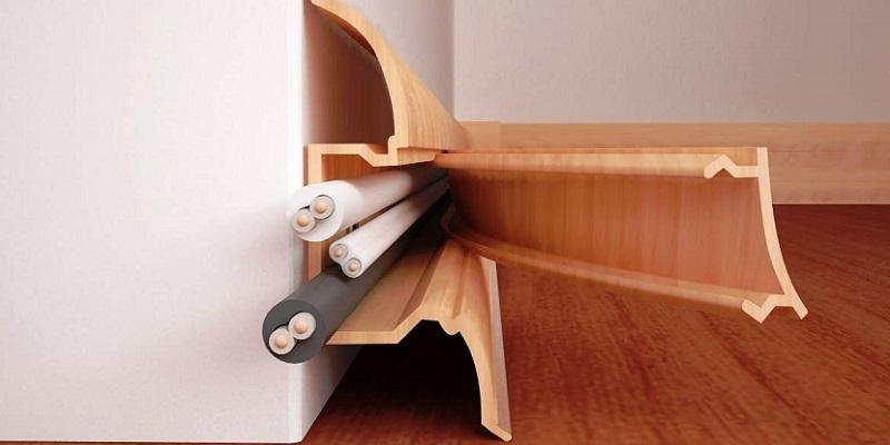 jak schować kable w pokoju