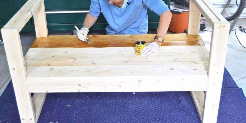 jak zrobić drewnianą ławkę ogrodową