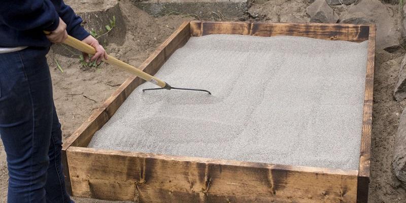 jak zrobić piaskownicę