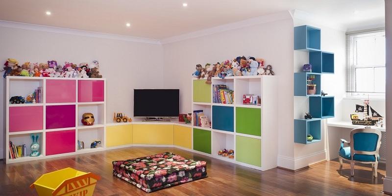 podłoga w pokoju dziecka